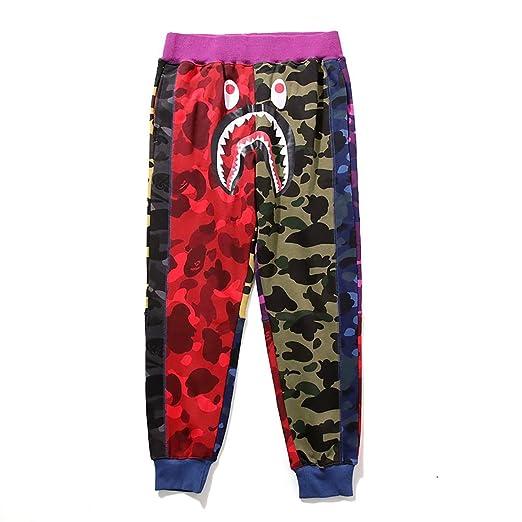 Chili Pantalones de chándal elásticos para Hombre Bape Ape Waist ...