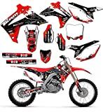 Team Racing Graphics kit for 2000-2001 Honda CR125/250R, SCATTER