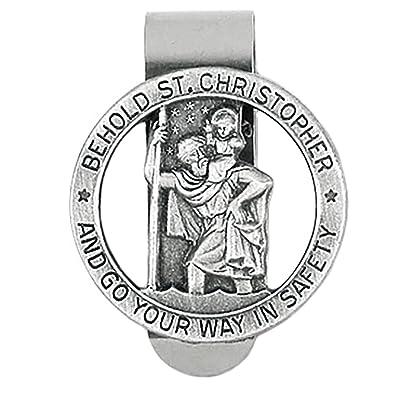 Amazon.com: Rosemarie religiosos medalla de San Cristóbal ...