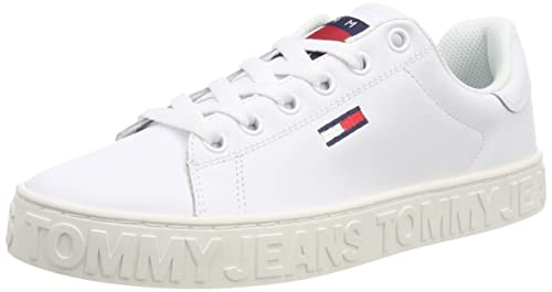 2ff64cc2cb8e6 Tommy Jeans Women s Cool Sneaker Trainers  Amazon.co.uk  Shoes   Bags