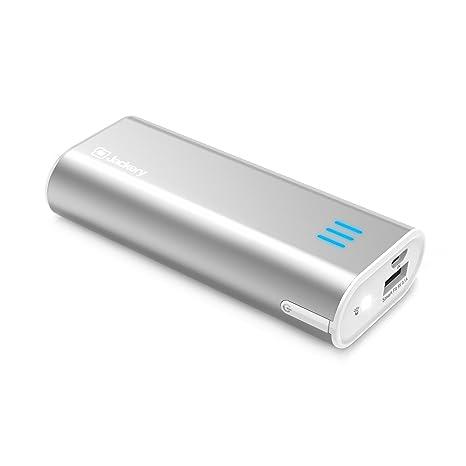 Jackery Cargador Portátil bar 6000mAh Cargador Móvil Batería Externa Power Bank Célula Litio Panasonic 5V/