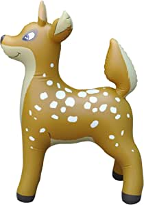 Inflatable Deer Animals Christmas Seasonal Decor Party by Jet Creations an-DEER3 36 inch Tall