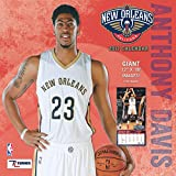 Turner Licensing Sport 2017 New Orleans Pelicans Anthony Davis Player Wall Calendar, 12''X12'' (17998011983)