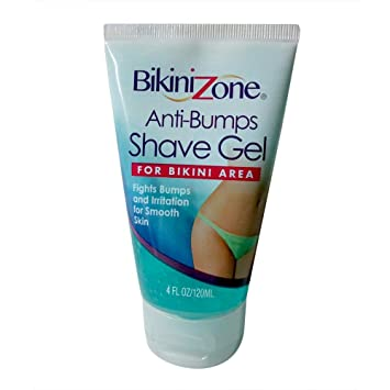 Bikini line post shave treatment