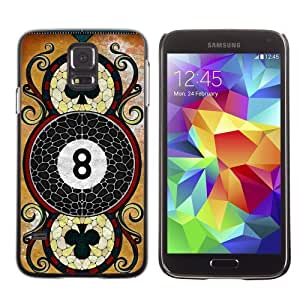 Designer Depo Hard Protection Case for Samsung Galaxy S5 / Cool Vintage Playing Card