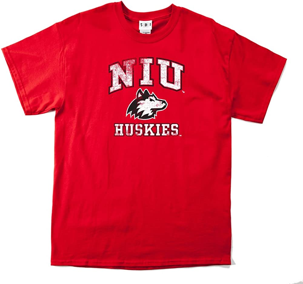 NCAA Mens 100/% Pre-Shrunk Short Sleeve