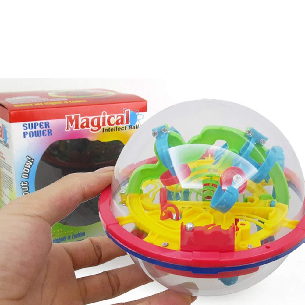 Laberinto juego de pelota bola colorida 3d con los niños de ...