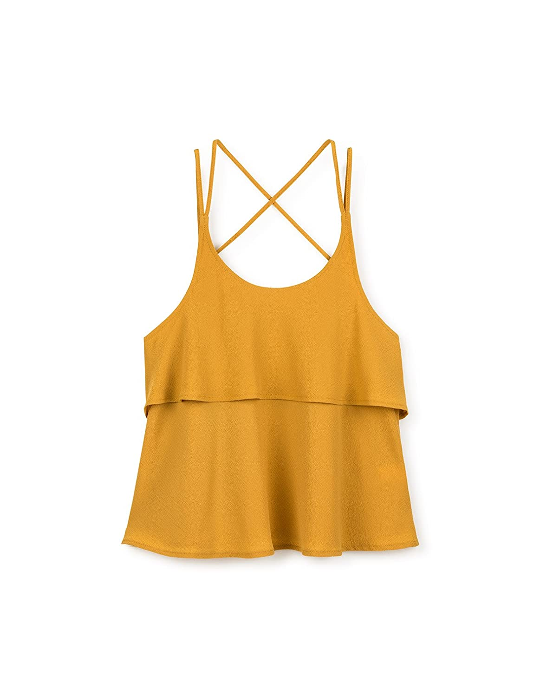 Gocco S75CBCCV701, Blusa para Niñas, (Amarillo Oscuro), 11-12 años: Amazon.es: Ropa y accesorios