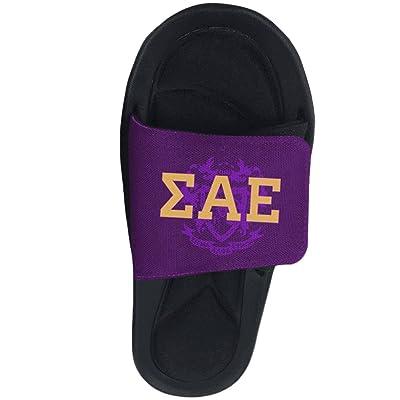 Sigma Alpha Epsilon SAE Slide On Sandals