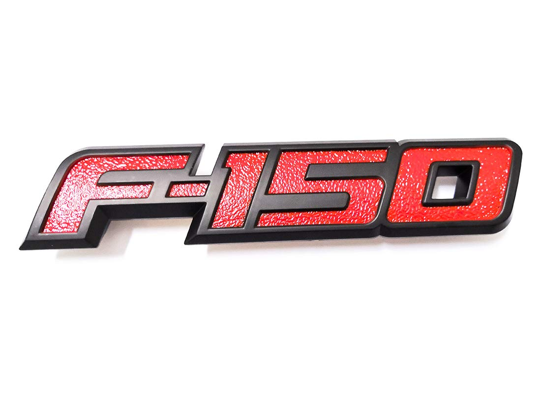 1x F-150 Rear Tailgate Emblem Badge 3D Nameplate Replacement for Ford F150 2009 2010 2011 2012 2013 2014 Aruisi