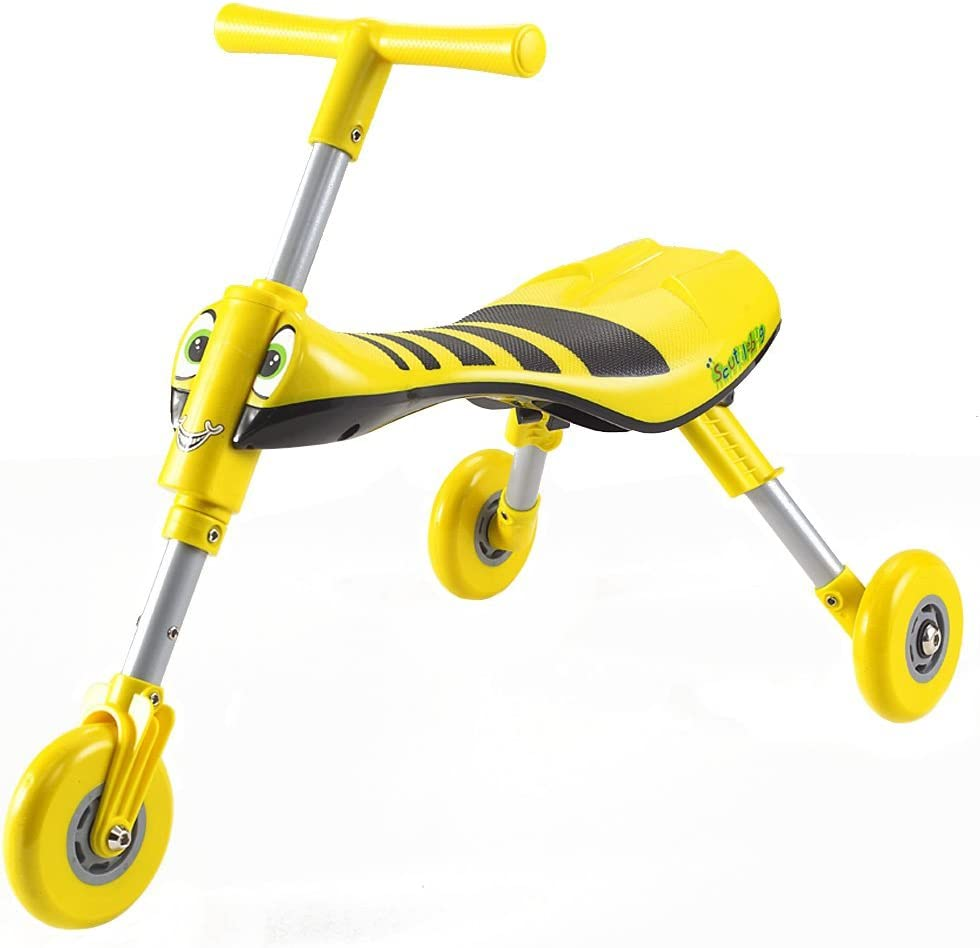 Mookie Scuttlebug Bumble Bee Trike Yellow Black Amazon Co Uk Toys Games
