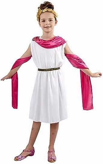 Amazon.com: Niñas lindo diosa griega vestido egipcio disfraz ...