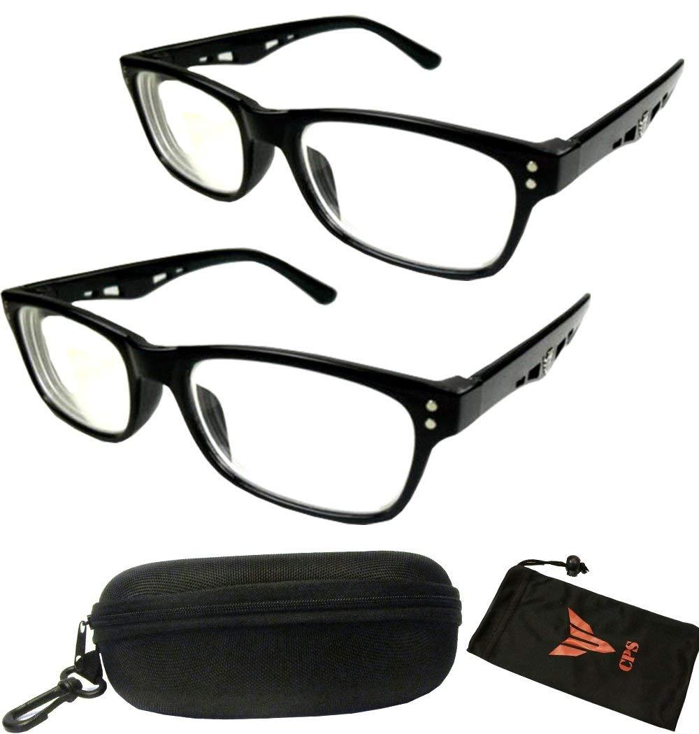 b5094f8157 Amazon.com  2 Pairs Nearsighted Myopia Lens Plastic Frame Eyeglass Glasses  Men   Women  Health   Personal Care