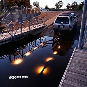 Amazon Com 12pc Boat Trailer Loading Runway Led Light