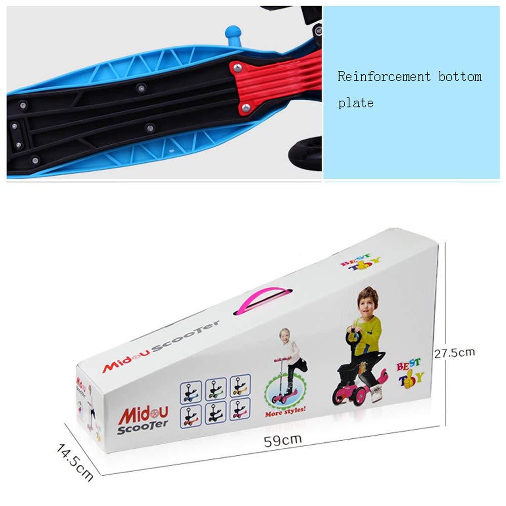 Amazon.com: CDREAM Patinete pequeño para niños con tres ...
