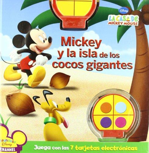 Mickey y la isla de los cocos gigantes (la casa de Mickey Mouse) por Disney,J3Realizaciones S.L.,J3REALIZACIONES S.L.;