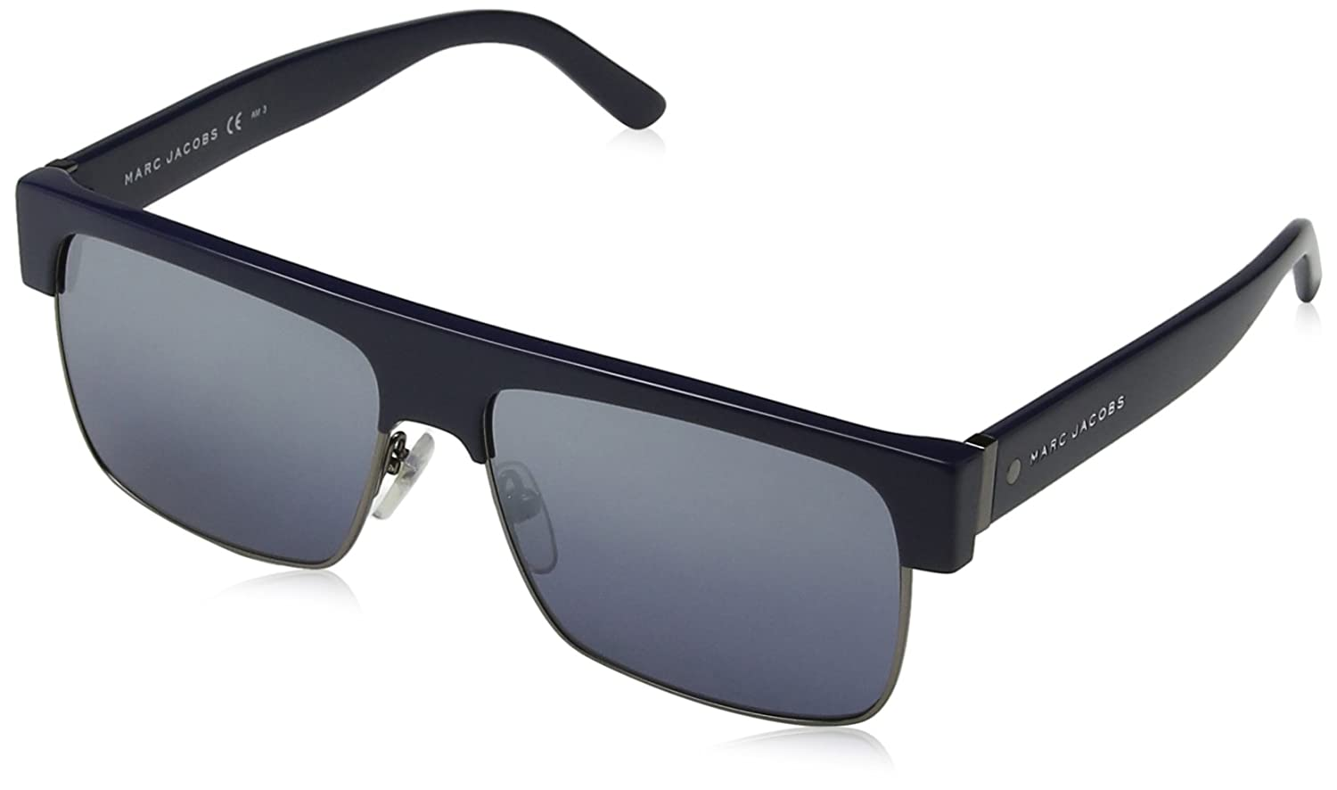 Marc Jacobs Unisex Adults 56/S J3 XJ5 57 Sunglasses, Blue (Bluette Dkruth/Grey Slvsp Degr) MARC 56/S J3