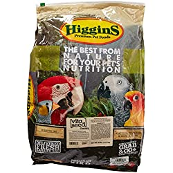 Higgins 466164 Vita Seed Canary Food for Birds, 25-Pound