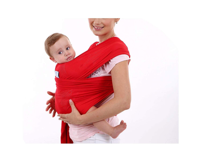 0-24M Breathable Mesh Wrap Cradle Mom Nursing Infant Backpack sling baby carrier