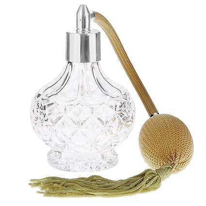 100mm Atomizador Botella Vaso de Perfume Tubo Estrellas Estilo Vintage