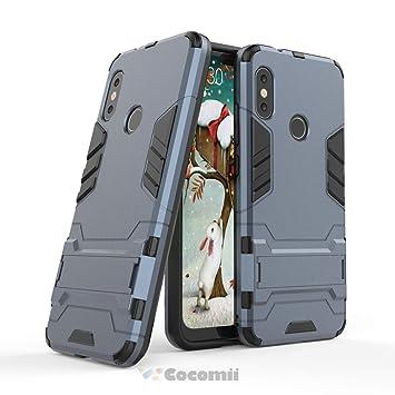 Cocomii Iron Man Armor Xiaomi Mi A2 Lite/Redmi 6 Pro Funda [Robusto] Táctico Sujeción Soporte Antichoque Caja [Militar Defensor] Cuerpo Completo Case ...