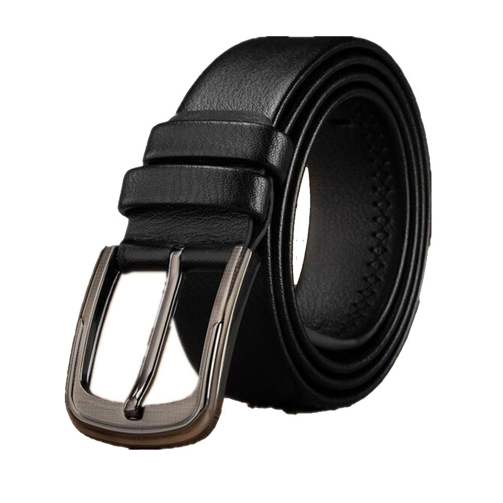 Mens fashion casual buckle business belt