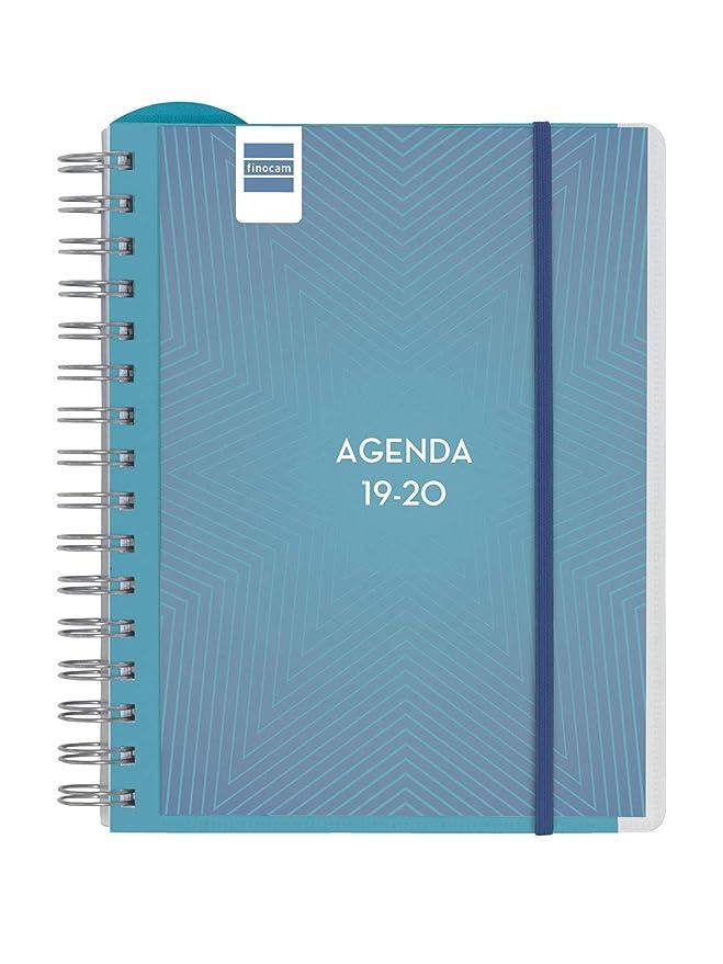 Agenda docente 2019-2020 semana vista apaisada catalán