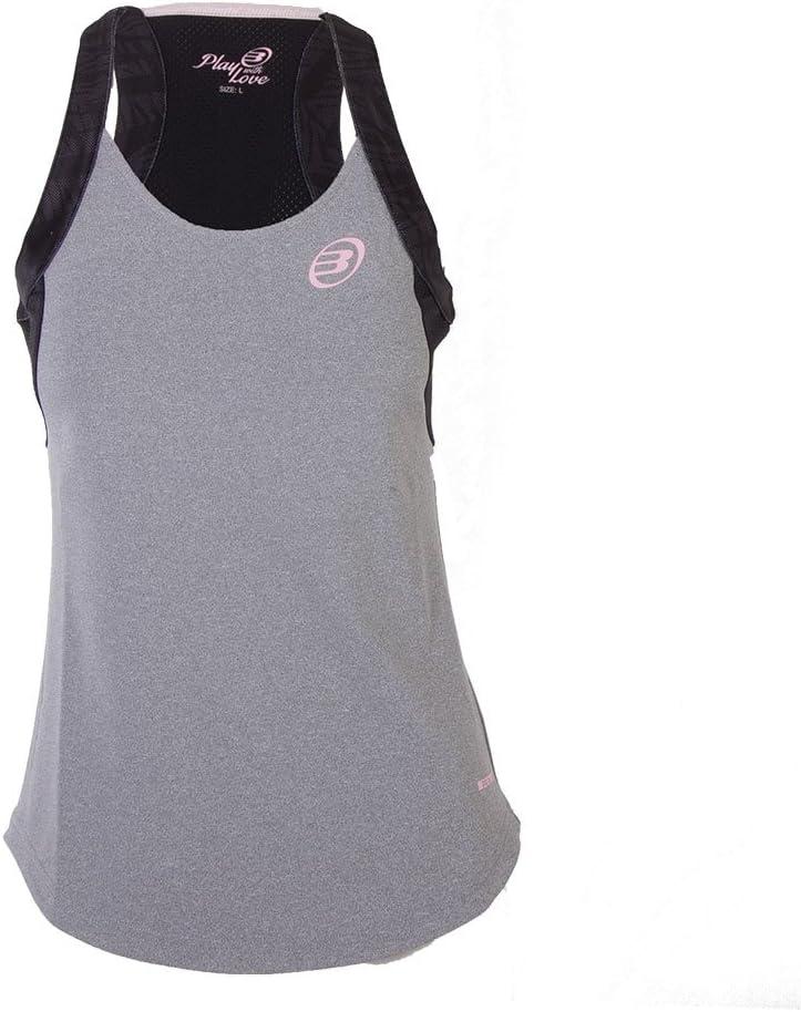 Bull padel Camiseta BULLPADEL Aker 2 Mujer Gris: Amazon.es ...