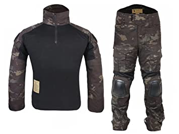 Hombres Ejército Militar Airsoft Paintball War-Game Shooting Gen2 ...