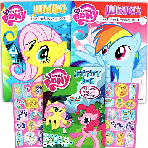 My Little Pony Coloring Stickers product image