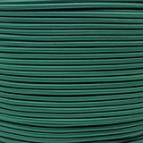 "3/16"" Elastic Bungee Nylon Shock Cord Available in Various Colors & Sizes – USA Made (Dark Green, 25 Feet)"