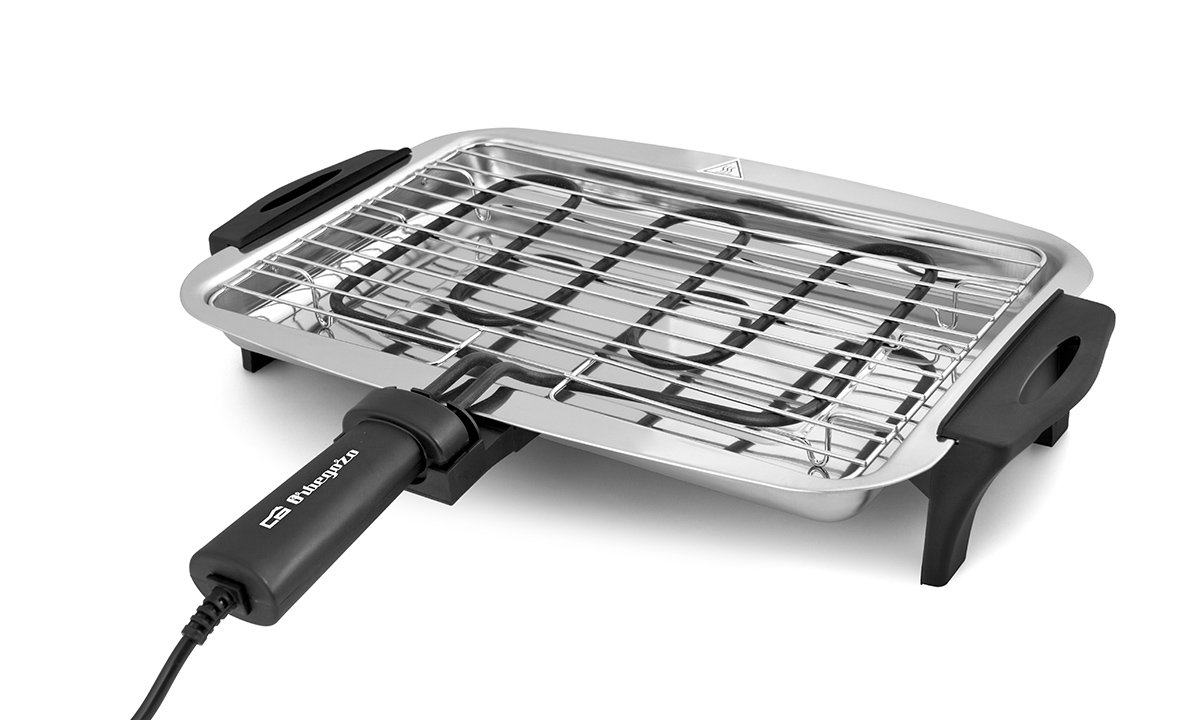 Orbegozo BC 3655 –  Barbecue, 36 x 25 x 10 cm, colore: grigio 36x 25x 10cm