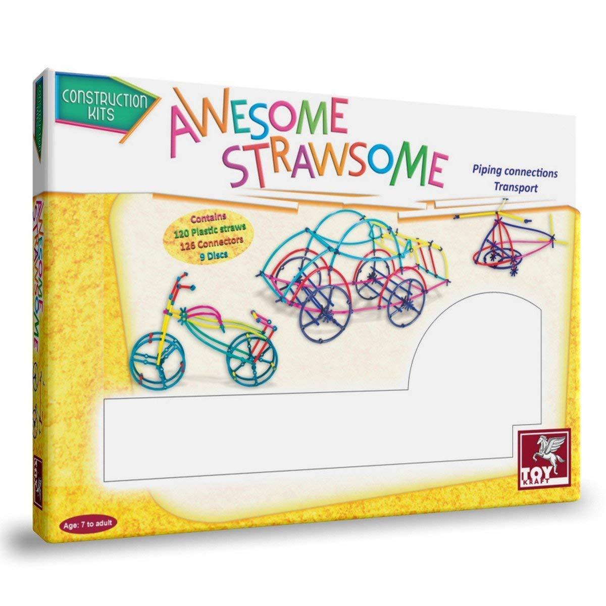 Awesome Strawsome - Straw Construction Stem Toy