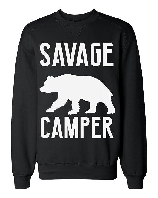 Savage Camper Wild Furry Bear Sudadera clásica Unisex: Amazon.es: Ropa y accesorios