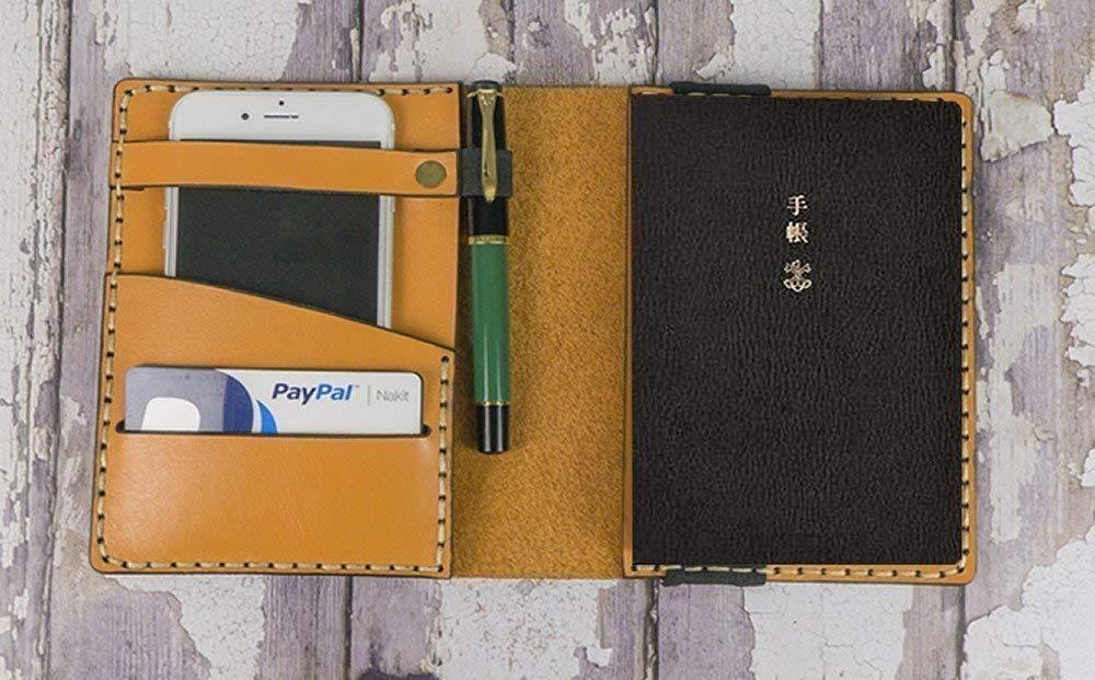 Amazon.com: Leather Hobonichi Cousin/Techo Planner Cover ...