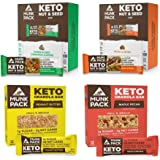 Munk Pack Keto Granola and Nut & Seed Bars 48 Pack (12 Pack Peanut Butter, 12 Pack Maple Pecan, 12 Pack Pecan Almond…