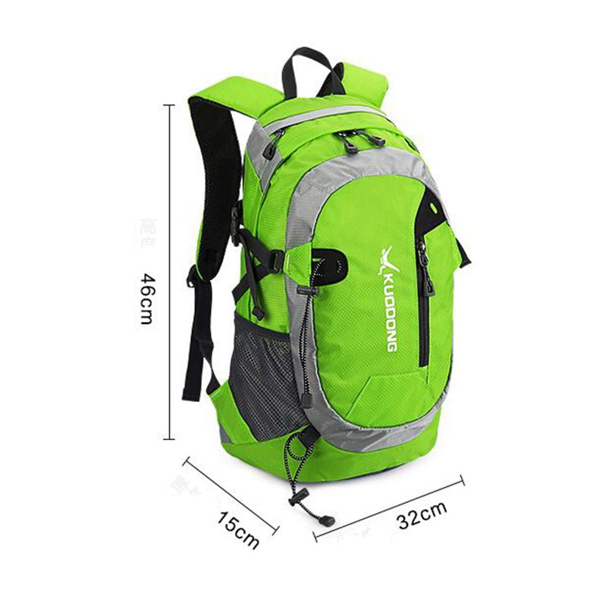 Waterproof Travel Casual Backpack Riding Bag Color : Red Haoyushangmao Outdoor Sports Backpack 25L Latest Models