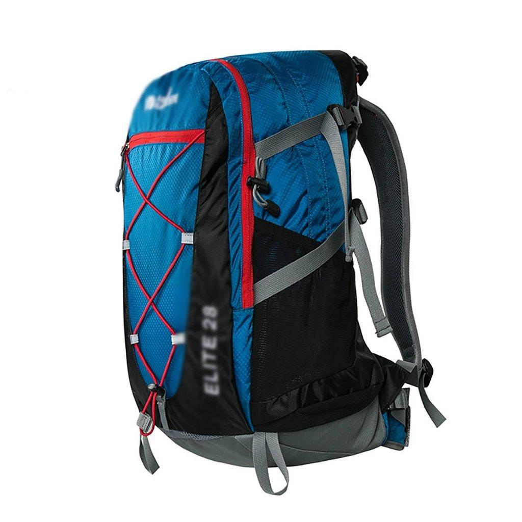 アウトドアハイキングバッグ 登山 旅行 ハイキングバックパック 28L トラベルバッグ 男女兼用 ハイキングバックパック 28L ブルー 28L ロイヤルブルー B07NKKKQD8