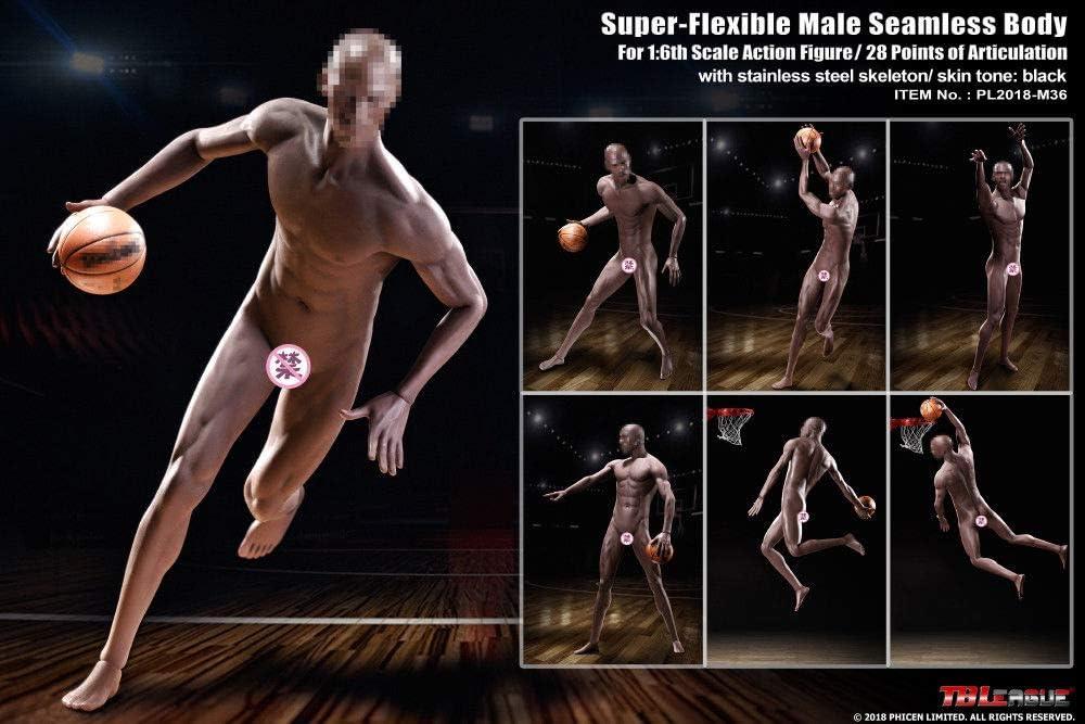 1//6 PHICEN TBLeague PL2018-M36 A Seamless Male Muscular Body SUNTAN Sport Style