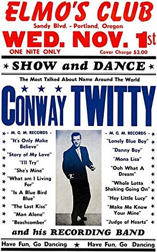 Conway Twitty - Elmo's Club - Portland OR - 1961 - Concert ()