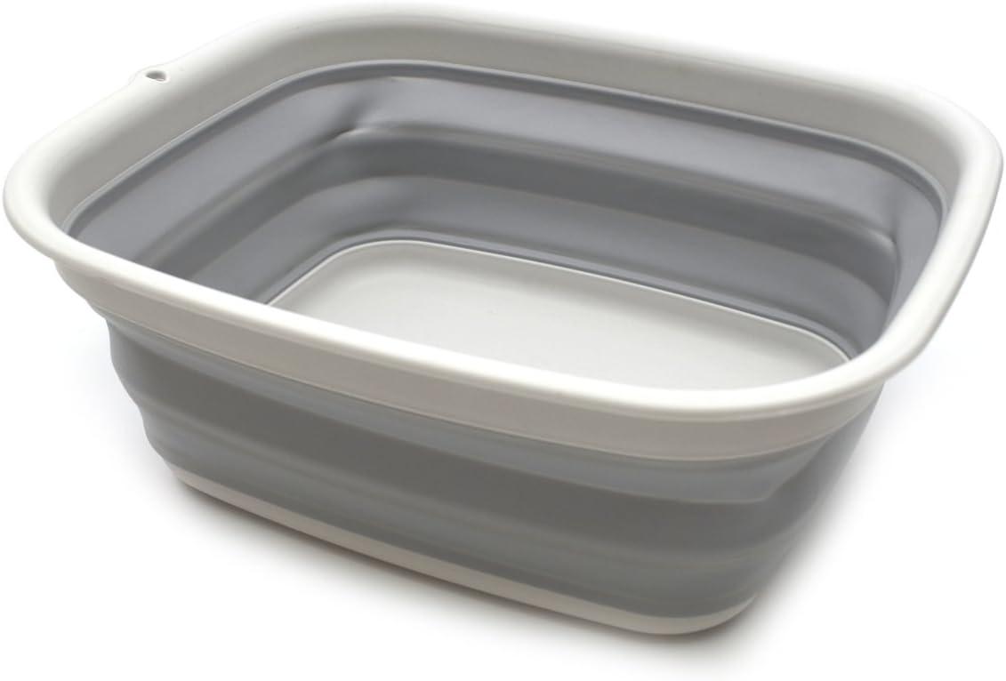 /pieghevole lavandino/ Sammart pieghevole vasca/ /Piatto vasca/ /salvaspazio plastica Washtub Medium Bright Blue
