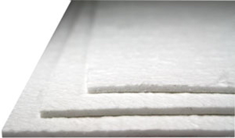 8 x 10 Reusable 1/8 Soft Fiber Shelf Paper for Glass Fusing and Slumping RBA