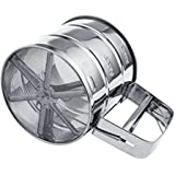 Malida Stainless Steel Flour Sifter/ Sieve, Handheld sifters small