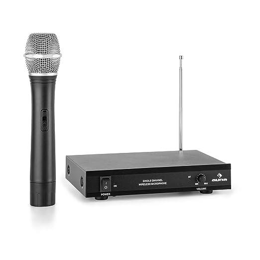 23 opinioni per auna VHF-1-H Radiomicrofono Wireless VHF con Ricevitore (1 Canale, Copertura 100