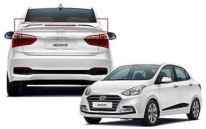Auto Pearl Oe Type Car Spoiler For Hyundai Xcent 2017 Polar White