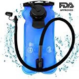 Artisanates Hydration Bladder, 3 Liter Water Bladder for Hydration Backpack, FDA Approved, BPA-Free, Dual Opening