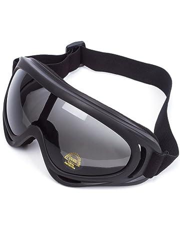3e0ea692ba Lunettes de Protection Masque de Visage Incassable Anti-UV Coupe-Vent  Anti-Poussière