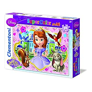 Clementoni 24450 Sofia The First Royal Preparatory Academy Maxi Puzzle 24 Pezzi