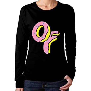 Amazon Woman Odd Future Wolf Gang Logo Vintage Long Sleeve T