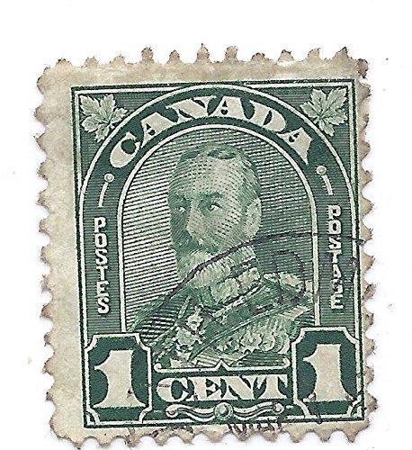Stamp 1 Cent King George V ()